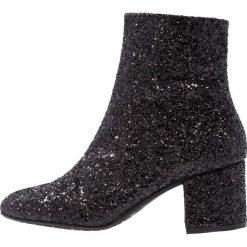 ANGULUS Botki black glitter. Czarne botki damskie skórzane ANGULUS, klasyczne. Za 879,00 zł.