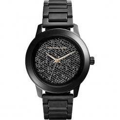 """Zegarek kwarcowy """"Kinley"""" w kolorze czarnym. Czarne, analogowe zegarki damskie marki Michael Kors, ze stali. W wyprzedaży za 740,95 zł."""