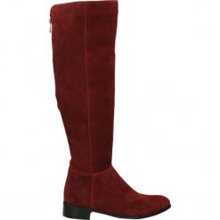 Kozaki - 220 CAM BORDO. Brązowe buty zimowe damskie Venezia, ze skóry. Za 229,00 zł.