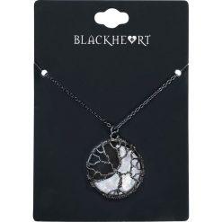 Naszyjniki damskie: Blackheart Tree Moonstone Naszyjnik czarny