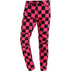 Chinosy męskie: GStar PHARRELL WILLIAMS ELWOOD X25 3D  Spodnie materiałowe rebel pink/black ao