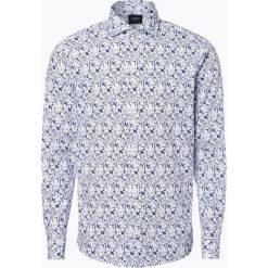 Joop - Koszula męska – Hanjo, niebieski. Szare koszule męskie marki JOOP!, z bawełny, z klasycznym kołnierzykiem, z długim rękawem. Za 379,95 zł.
