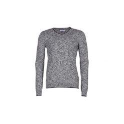 Swetry Eleven Paris  AUGUSTIN. Szare swetry klasyczne męskie Eleven Paris, l. Za 207,20 zł.
