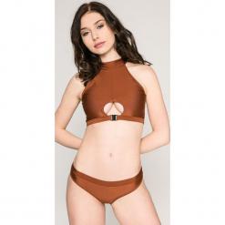 Answear - Strój kąpielowy Stella. Szare bikini ANSWEAR. W wyprzedaży za 39,90 zł.