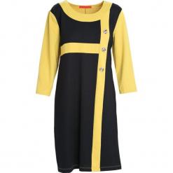 Limonkowa Sukienka Since You're Gone. Czarne sukienki marki Born2be, na jesień, xl, midi, oversize. Za 49,99 zł.