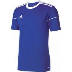 Adidas Koszulka męska Squadra 17 niebieska r. L (S99149). Niebieskie koszulki sportowe męskie marki Adidas, l. Za 52,50 zł.