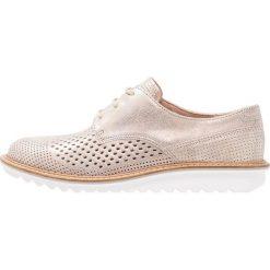 Ecco TOUCH FLATFORM Sznurowane obuwie sportowe moonrock. Czarne buty sportowe damskie marki ecco. W wyprzedaży za 495,20 zł.