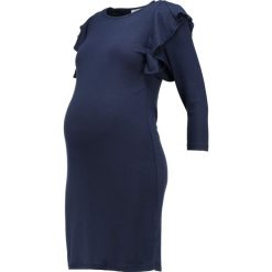 Sukienki dzianinowe: Envie de Fraise OLYMPE Sukienka dzianinowa navy blue
