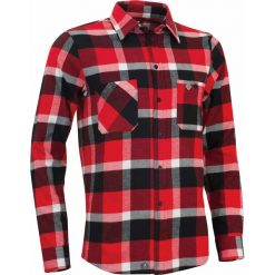 Koszule męskie na spinki: Woox Koszula męska Flannel Rider Men´s Fiery r. L
