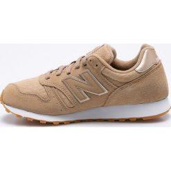 New Balance - Buty WL373OIT. Szare buty sportowe damskie marki New Balance, z gumy. W wyprzedaży za 239,90 zł.