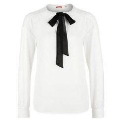S.Oliver Koszulka Damska 42 Kremowy. Białe bluzki damskie S.Oliver, s, z materiału, eleganckie. Za 139,00 zł.