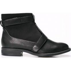 Medicine - Botki Future Past. Czarne buty zimowe damskie MEDICINE, z materiału, z okrągłym noskiem. W wyprzedaży za 79,90 zł.