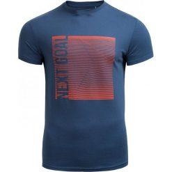T-shirt męski TSM610 - GRANATOWY - Outhorn. Niebieskie t-shirty męskie marki Outhorn, na jesień, m, z bawełny. W wyprzedaży za 27,99 zł.