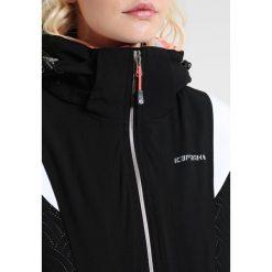 Icepeak NICKI Kurtka narciarska black. Czarne kurtki damskie narciarskie Icepeak, z elastanu. W wyprzedaży za 671,20 zł.