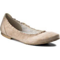 Baleriny SERGIO BARDI - Baranello SS127323718JN 203. Brązowe baleriny damskie zamszowe marki Sergio Bardi, na płaskiej podeszwie. W wyprzedaży za 169,00 zł.