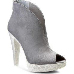 Botki R.POLAŃSKI - 0772 Szary. Czarne buty zimowe damskie marki R.Polański, ze skóry, na obcasie. W wyprzedaży za 209,00 zł.