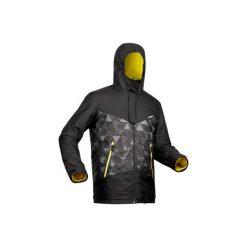 Kurtka narciarska SKI-P JKT 150 męska. Czarne kurtki męskie WED'ZE, m. Za 149,99 zł.