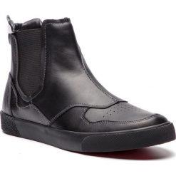 Sztyblety TRUSSARDI JEANS - 77A00100 K299. Czarne sztyblety męskie marki Trussardi Jeans, z jeansu. Za 579,00 zł.