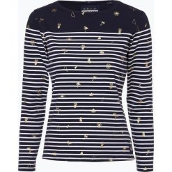 Superdry - Damska koszulka z długim rękawem, niebieski. Niebieskie t-shirty damskie Superdry, m, w prążki. Za 99,95 zł.