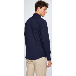 Selected - Koszula. Szare koszule męskie na spinki marki S.Oliver, l, z bawełny, z włoskim kołnierzykiem, z długim rękawem. Za 219,90 zł.