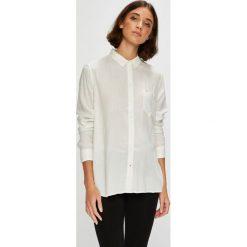 Lee - Koszula. Szare koszule damskie marki Lee, l, z tkaniny, casualowe, z długim rękawem. Za 199,90 zł.