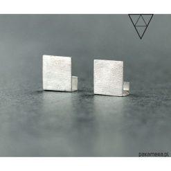 Kolczyki damskie: Minimalistyczne kolczyki wkrętki PLANE