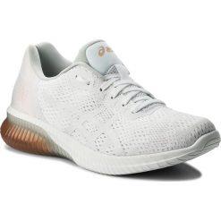 Buty ASICS - Gel-Kenun Mx T888N White/White/Apricot Ice 0101. Białe buty do biegania damskie Asics, z materiału. W wyprzedaży za 399,00 zł.