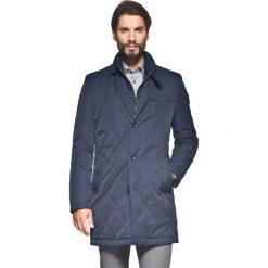 Płaszcze przejściowe męskie: płaszcz omero granatowy