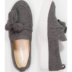 Creepersy damskie: Glamorous Półbuty wsuwane grey