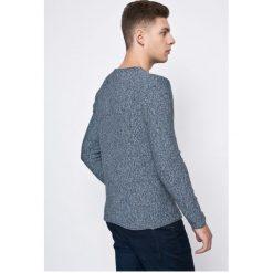 Review - Sweter. Niebieskie swetry klasyczne męskie marki Review. W wyprzedaży za 69,90 zł.
