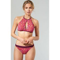 Stroje dwuczęściowe damskie: Dół od bikini – Fioletowy