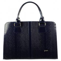 Grosso Bag Torebka Damska Ciemnoniebieski. Czarne torebki klasyczne damskie Grosso Bag, ze skóry. Za 195,00 zł.