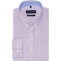 Koszula SIMONE KDWR000344. Niebieskie koszule męskie na spinki marki Giacomo Conti, m, z tkaniny, klasyczne. Za 259,00 zł.