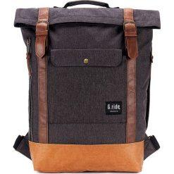 Plecak w kolorze antracytowym - 27 x 60 x 10 cm. Szare plecaki męskie marki G.ride, z tkaniny. W wyprzedaży za 130,95 zł.