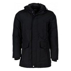 Płaszcze przejściowe męskie: Geox Płaszcz Męski 56 Czarny