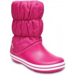 Crocs Śniegowce Winter Puff Boot Women Candy Pink/Candy Pink 36,5. Różowe śniegowce damskie marki Crocs, z gumy. W wyprzedaży za 168,00 zł.