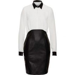Sukienki: Sukienka biznesowa bonprix czarno-biały