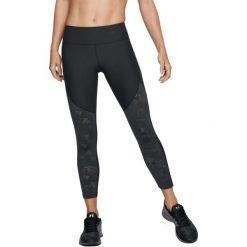 Under Armour Spodnie damskie TB Balance Mesh Ankle Crop czarne r. XS (1305438-001). Czarne spodnie sportowe damskie Under Armour, xs, z meshu. Za 180,61 zł.