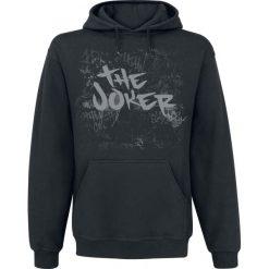 Bluzy męskie: The Joker Arkham Joker Bluza z kapturem czarny