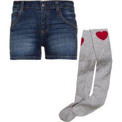 Mothercare STATEMENT TIGHTS SET Szorty jeansowe denim. Niebieskie spodenki chłopięce mothercare, z bawełny. Za 129,00 zł.