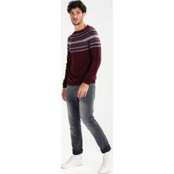 Swetry klasyczne męskie: TOM TAILOR DENIM JAQUARD RAGLAN CREWNECK Sweter gipsy purple