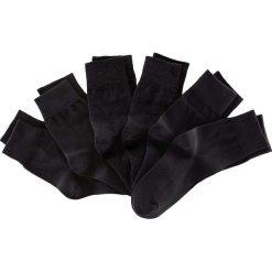 Skarpetki unisex (6 par) bonprix czarny. Czarne skarpetki męskie bonprix. Za 47,94 zł.