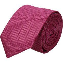 Krawaty męskie: krawat platinum róż classic 206