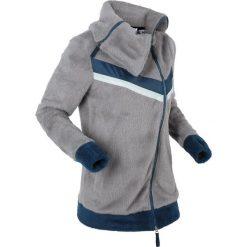 Bluzy polarowe: Miękka bluza rozpinana z polaru, długi rękaw bonprix szary