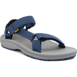 Sandały TEVA - Winsted Solid 1017420 Navy. Niebieskie sandały męskie Teva, z materiału. W wyprzedaży za 159,00 zł.