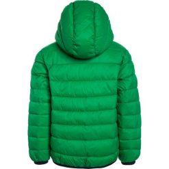 Benetton Kurtka przejściowa green. Niebieskie kurtki chłopięce przejściowe marki Benetton, z bawełny. Za 169,00 zł.