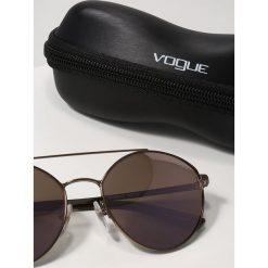 VOGUE Eyewear Okulary przeciwsłoneczne dark brown/pink. Brązowe okulary przeciwsłoneczne damskie aviatory VOGUE Eyewear. Za 409,00 zł.