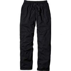 Spodnie dresowe męskie: Spodnie dresowe Regular Fit bonprix czarny