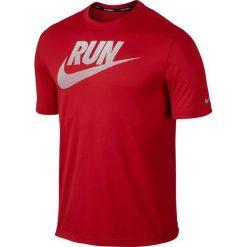 Nike Koszulka męska DF Graphic Challenger czerwona r. XL (743875 657). Czerwone koszulki sportowe męskie Nike, m. Za 84,58 zł.