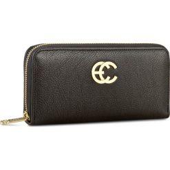 Duży Portfel Damski CARRA - PC026 Czarny. Czarne portfele damskie marki Carra, ze skóry. W wyprzedaży za 159,00 zł.